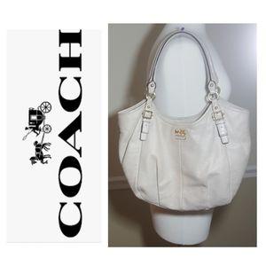 Coach Madison Abigail large pleated hobo bag
